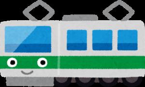 画像:電車